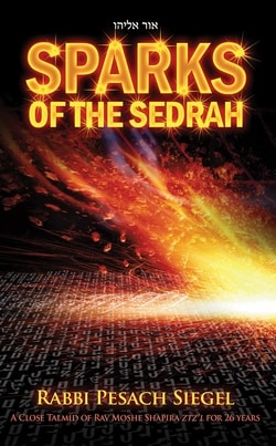 Sparks of the Sedrah by Rabbi Pesach Siegal