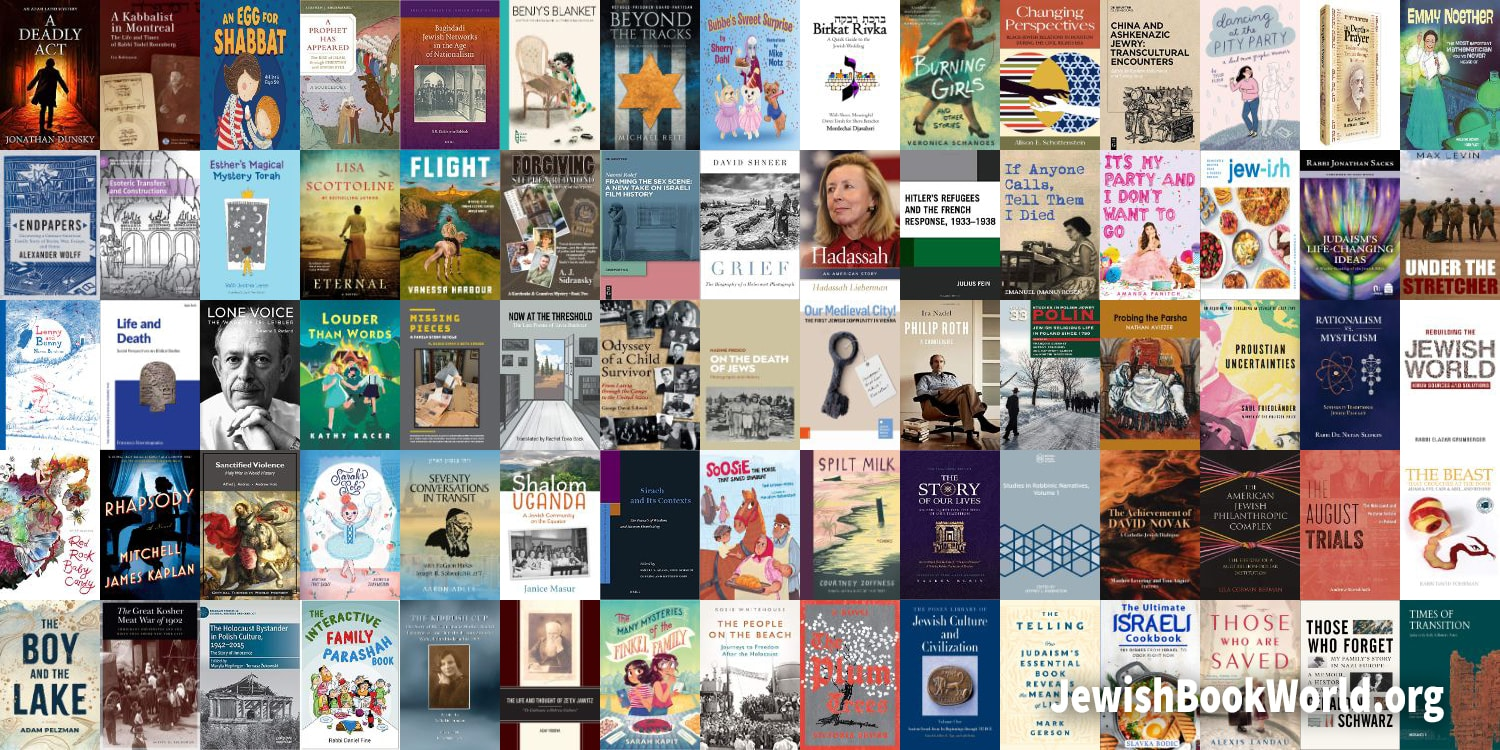 The 83 books posted on JewishBookWorld.org in May 2021