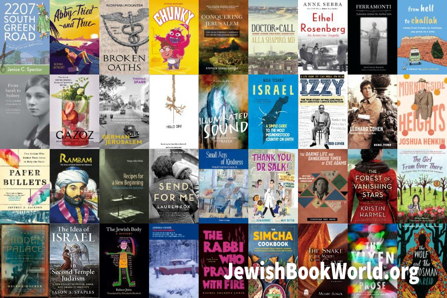 The 38 books posted on JewishBookWorld.org in August 2021