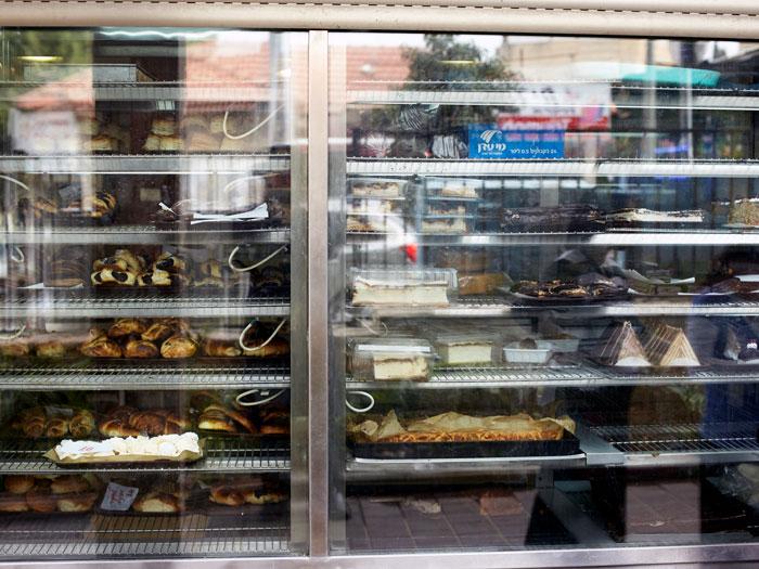 Katz's pastry shop on Rabbi Akiva street in Bnei Brak