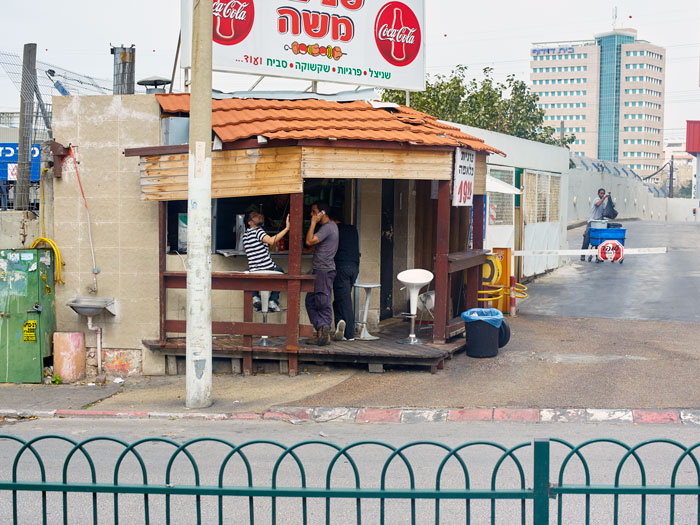 Workers at Moshe's
