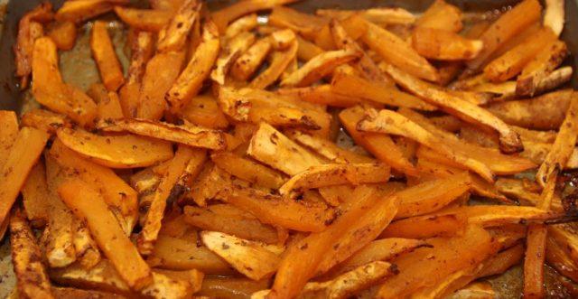 Sweet potato chips Healthy Recipes