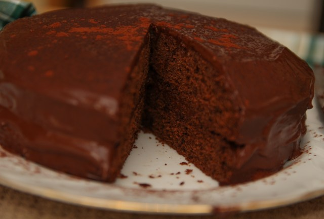 Healthy Chocolate Cake!