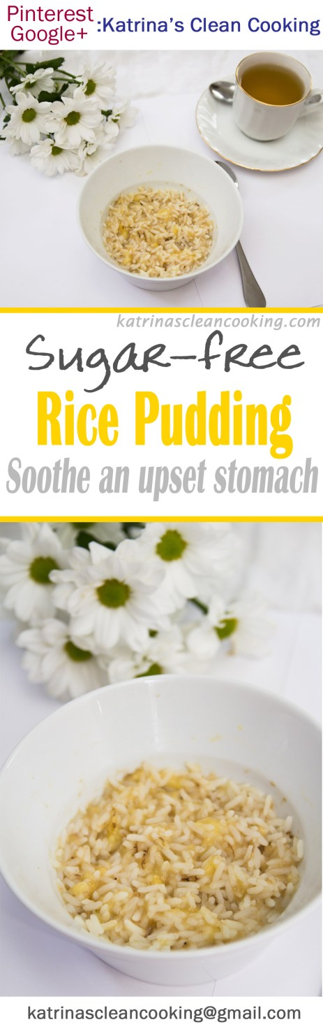 Healthy Sugar-free Rice Pudding #sugarfree #refinedsugarfree #easy #quick #vegan