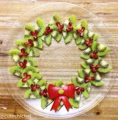 Christmas Tree Fruit Platter.Fruit Platters For Kids 10 Christmas Party Platters
