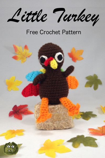 10 Free Amigurumi Turkey Crochet Patterns   600x400