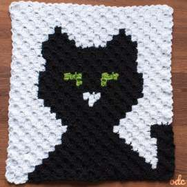 Crochet Pattern - INSTANT PDF DOWNLOAD - Cat Pattern - Crochet Cat ... | 271x271