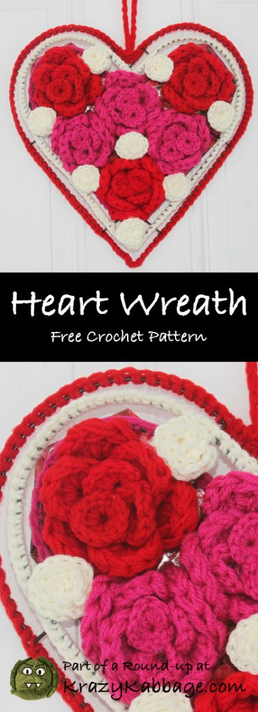 Valentine Hearts Free Crochet Patterns – Krazy Kabbage