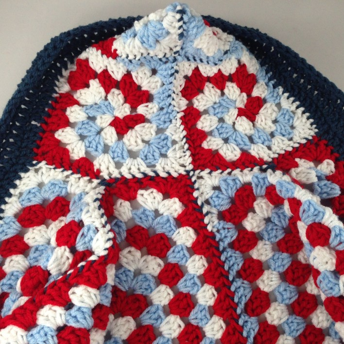 Hexagon Granny Square Hooded Cardigan Free Crochet Pattern Krazy