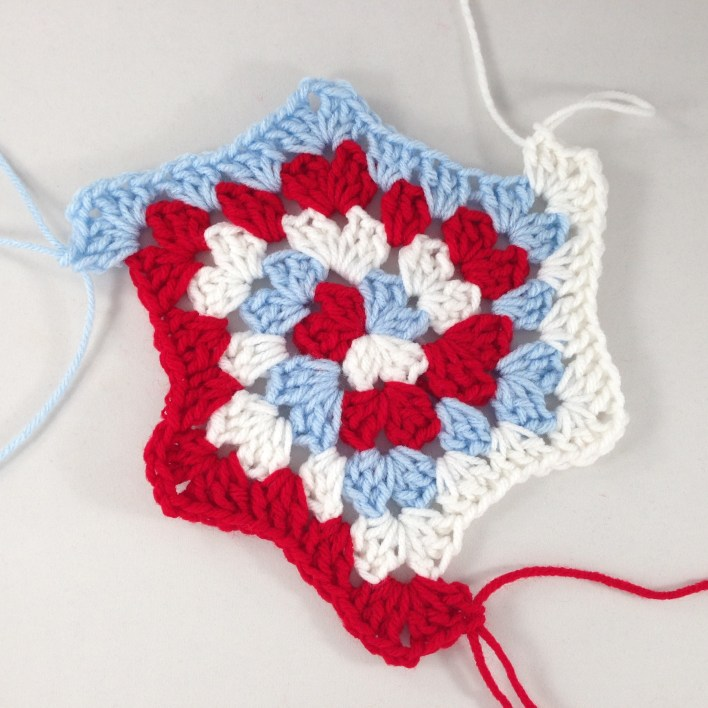 Hexagon Granny Square Hooded Cardigan Free Crochet Pattern – Krazy