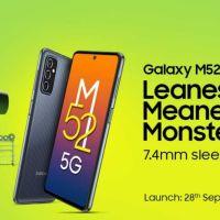 Especificaciones del Samsung Galaxy M52, precio esperado en India y últimas noticias