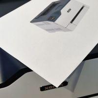 Prueba de la impresora láser a color Xerox C230
