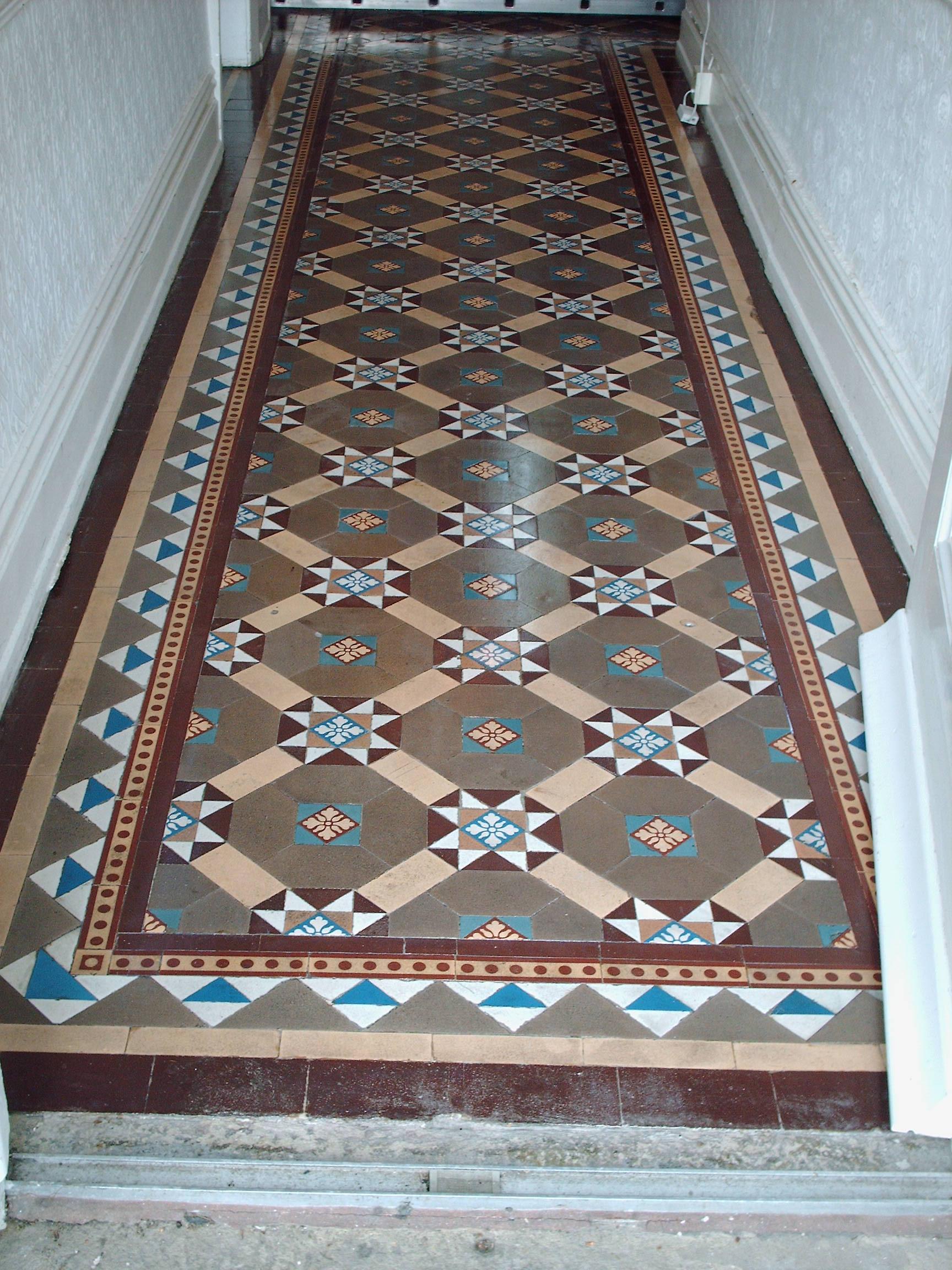 Victorian tiles tile doctor lancashire for Victorian floors