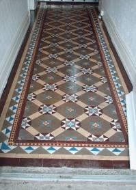 Restored Victorian Floor