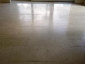 Jerusalem Limestone Floor After Cleaning
