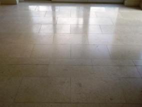 Jerusalem Limestone Floor After Cleaning