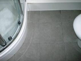 Before Grout Colouring