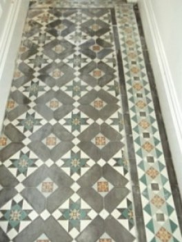 Victorian floor Restoration in Lancaster after cleaning