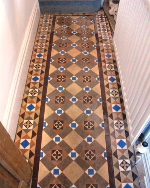 Victorian Tiles Southport Before Cleaning