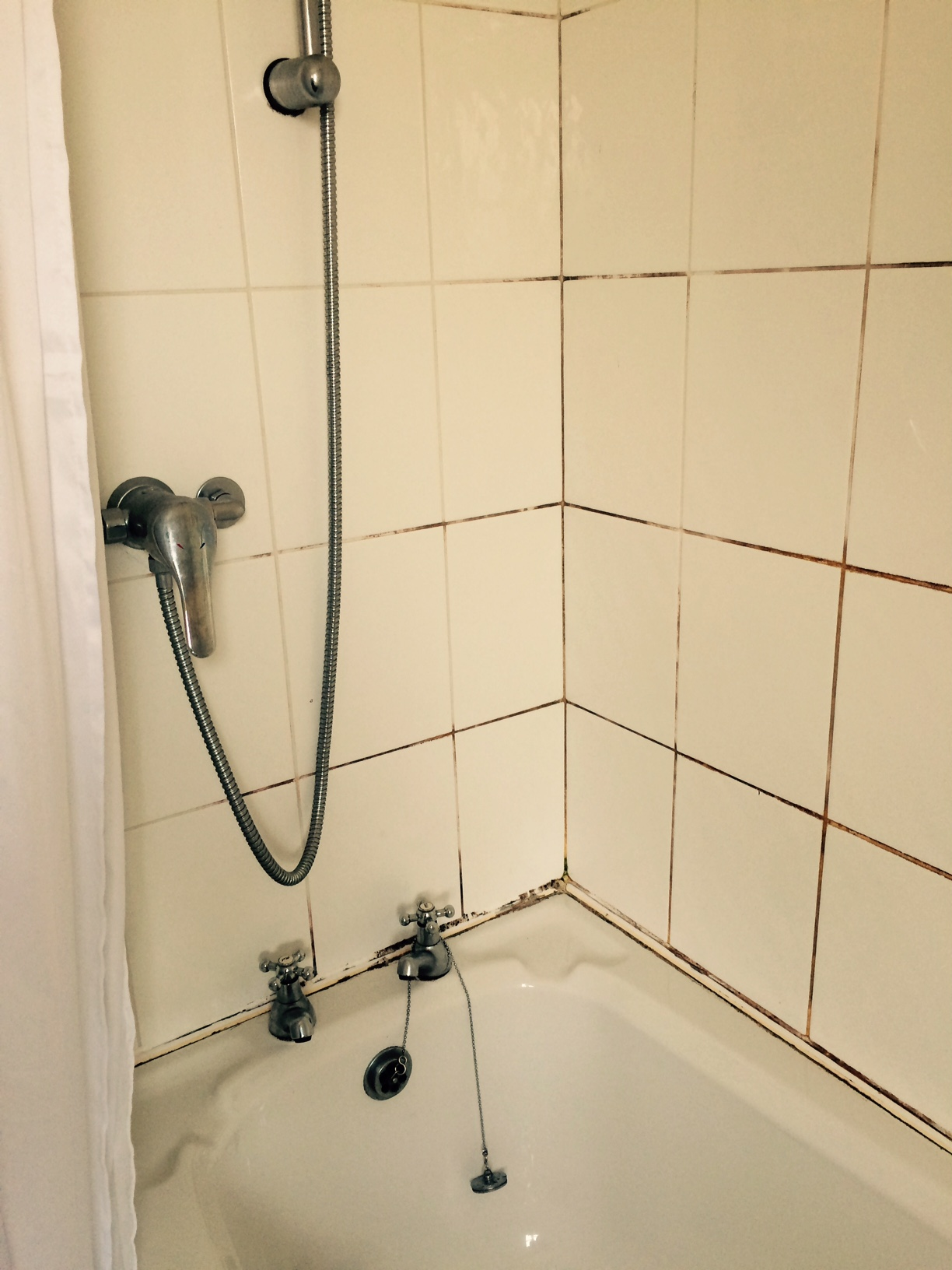 home remedies for cleaning bathroom tile grout