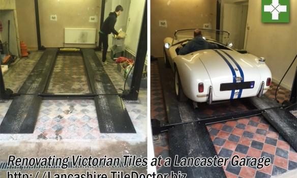 Renovating Victorian Tiles at Lancaster Garage
