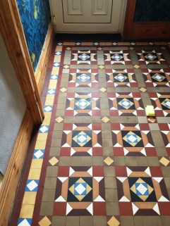 Geometric floor After Restoration Barrow in Furness