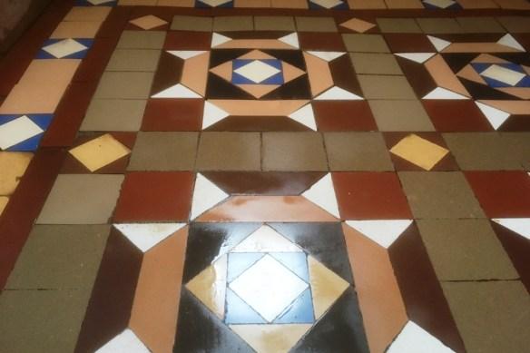 Geometric floor After Milling Barrow in Furness