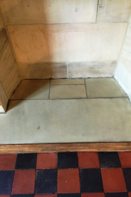 Outstanding Cleaning A Sandstone Fireplace And Victorian Floor Tiles Download Free Architecture Designs Viewormadebymaigaardcom