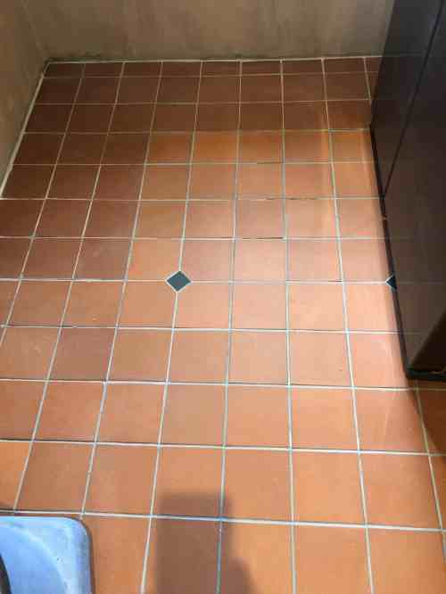 Quarry Tiled Floor Lancaster After Repair