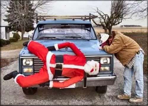 Funny Christmas Picture A Sad Day