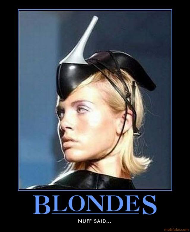 Weekly Blonde Jokes 8