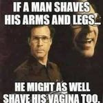 Will Ferrell on Shaving