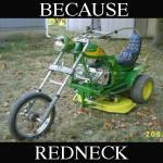 Redneck Chopper Trike Mower