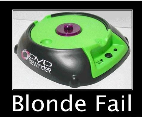 Blonde Jokes Weekly 11 Blond Fail