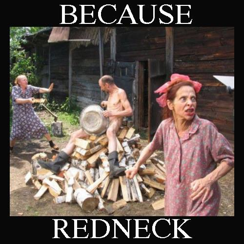 Typical Redneck Scene