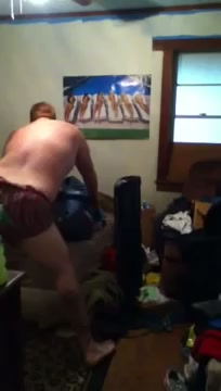 Husband Caught Twerking