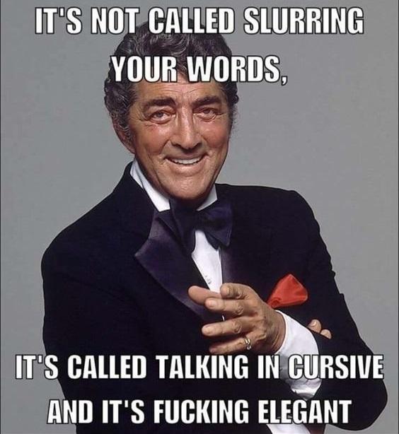 Slurring Your Words
