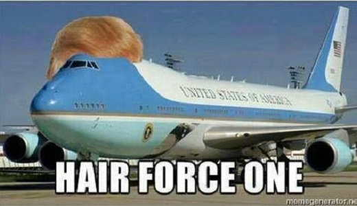 Hair Force One