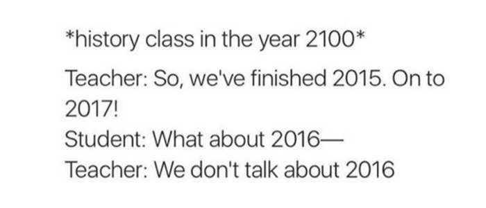 History Class In 2100