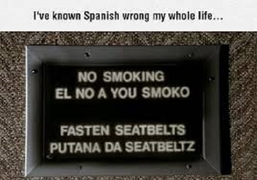 Spanish Done Wrong