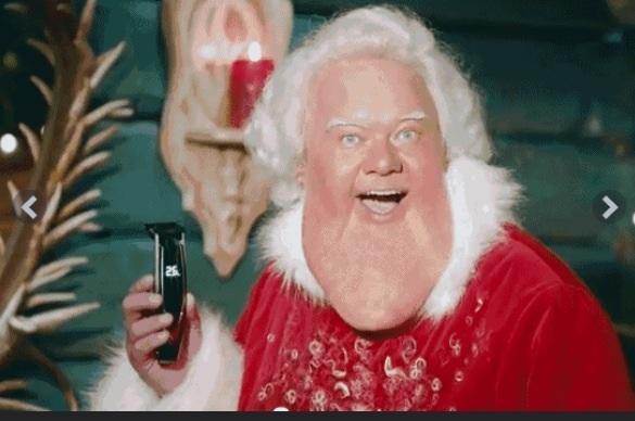 Why Santa Never Shaves chreistmas image