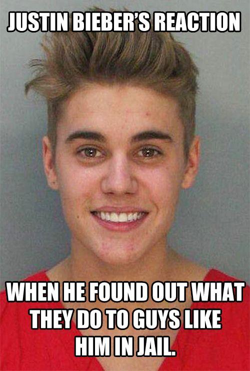 Bieber In Jail image