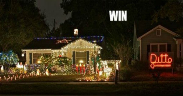 Christmas Win Fail picture