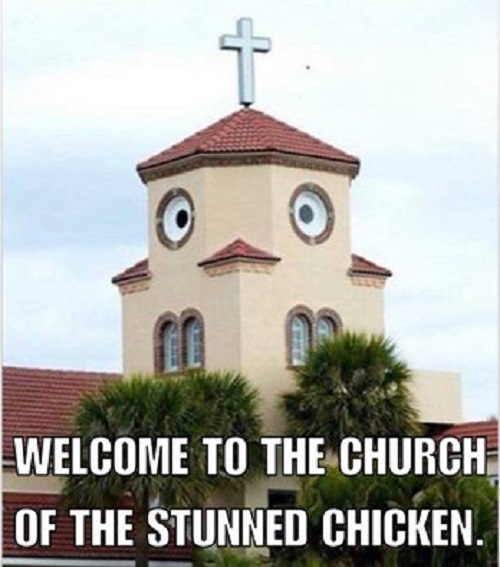 Church Of The Stunned Chicken