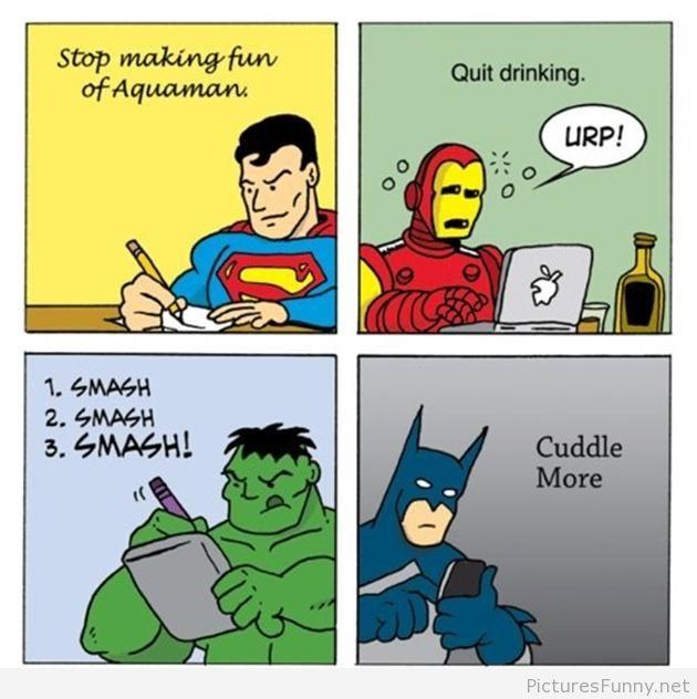 Superhero New Years Resolutions image