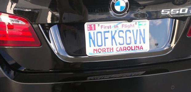 Funny License Plates Nofksgvn