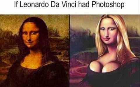 If Leonardo Had Photoshop