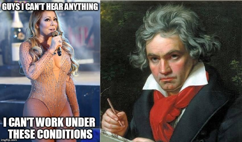 Poor Mariah Can't Hear image
