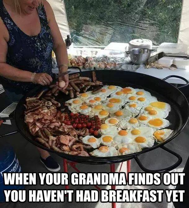 Breakfast with Grandma