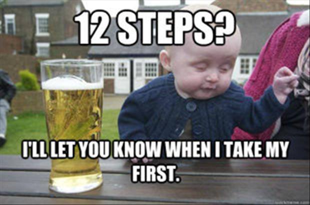 Drunk Baby Twelve Step